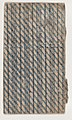 Sheet with horizontal and diagonal stripe pattern Met DP886569.jpg