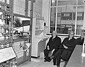 Shell-laboratorium 50 jaar te Amsterdam, dr H van Driel (directeur) tijdens ro, Bestanddeelnr 916-0868.jpg