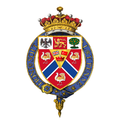 Shield of Arms of Herbert Kitchener, 1st Earl Kitchener, KG, KP, GCB, OM, GCSI, GCMG, GCIE, PC.png