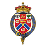 Shield of Arms of Herbert Kitchener, 1st Earl Kitchener, KG, KP, GCB, OM, GCSI, GCMG, GCIE, PC.png