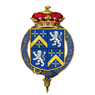 Shield of arms of Robert Offley Ashburton Crewe-Milnes, 1st Marquess of Crewe, KG, PC, FSA.png