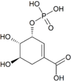 Shikimic acid 3-phosphate.png