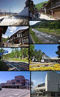 Shiojiri, Nagano City in Chūbu, Japan