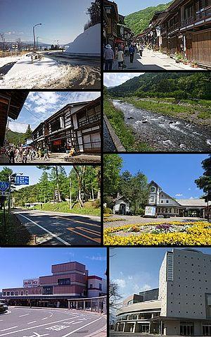 Shiojiri, Nagano - Shioziri Pass, Nakasendo Narai-juku Kiso-Hirasawa, Narai River  Route 153 Utou Pass, Tirol-no-mori Shiojiri Station, Raisin Hall