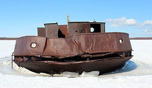 Shipwreck Pateniemi Oulu 20120409.JPG