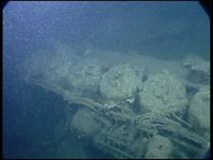 Joffre (shipwreck) - Part of the wreck