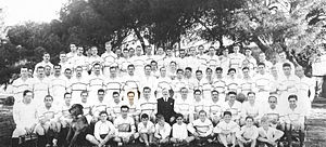San Isidro Club - All SIC teams photographed together in 1937.