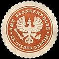 Siegelmarke Amt Blankenfelde - Kreis Nieder - Barnim W0216643.jpg