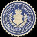Siegelmarke Direktion des N.Ö. Landes Real- und Obergymnasiums in Stockerau W0320951.jpg