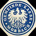 Siegelmarke Gemeinde - Kasse - Morbach W0215915.jpg