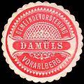 Siegelmarke Gemeindevorstehung Damüls - Vorarlberg W0261046.jpg