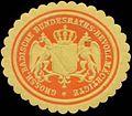 Siegelmarke Gr. Badische Bundesraths-Bevollmächtigter W0394143.jpg