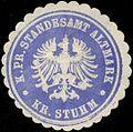 Siegelmarke K.Pr. Standesamt Altmark Kreis Stuhm W0331800.jpg