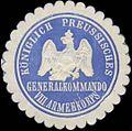 Siegelmarke K. Preussisches Generalkommando VIII. Armeekorps W0338299.jpg