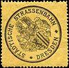 Siegelmarke Städtische Strassenbahn - Dresden W0212820.jpg