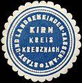 Siegelmarke Stadt- und Landgemeinden-Kassen Kirn Kreis Kreuznach W0309771.jpg