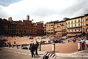 Siena piazza del campo 1996