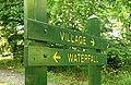 Sign, Crawfordsburn Glen - geograph.org.uk - 1366151.jpg