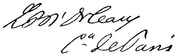 Signature of Prince Louis Philippe of Orléans, Count of Paris.png