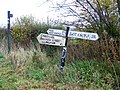 Signs near Charnage - geograph.org.uk - 1584656.jpg