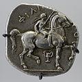 Silver tetradrachm reverse Philip II CdM Paris Delepierre959.jpg