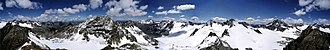Silvretta Alps - Silvretta - 360° panoramic view