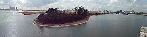 Nandu River - Image: Simapo Island in 2012 12