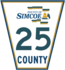 Simcoe Road 25 sign.png