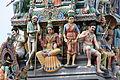 Singapore. Sri Mariamman. Gopuram. South West-2.JPG