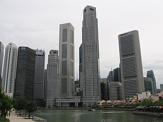 6 Battery Road - Image: Singapore River, Dec 05