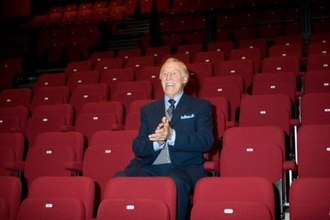 Bruce Forsyth - Forsyth opening The Sir Bruce Forsyth Auditorium at the Millfield Theatre, Enfield, in October 2009