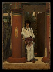 An Egyptian in a Doorway