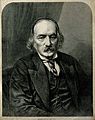 Sir Richard Owen. Wood engraving by (S. T.), 1872, after Mas Wellcome V0004397.jpg