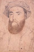 Sir William Sharington, by Hans Holbein the Younger