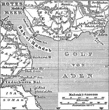 Situationsplan von Aden