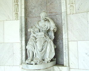 Temple of Friendship - Statue of Wilhelmine of Bayreuth in the Temple of Friendship