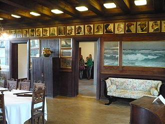 Skagens Museum - Brøndum's dining room today