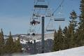 Skiers on ski lift, Mammoth Lakes, California LCCN2013633713.tif