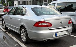 Skoda Superb II 20090611 rear.JPG