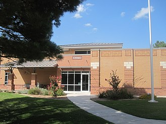 Slaton, Texas - New Slaton municipal building