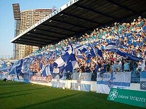 ŠK Slovan Bratislava - Image: Slovan Trnava fans