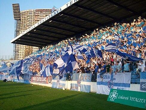 205f88fc01469 Slovan fans are called Belasá šlachta