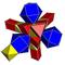 Small rhombated pentachoron net.png