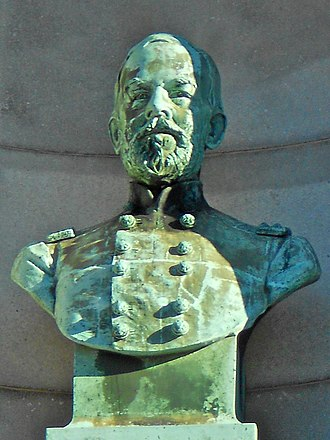 James A. Beaver - Bust of Beaver on Smith Memorial Arch