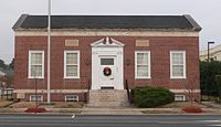 Smithfield, North Carolina former post office from SW 2.JPG