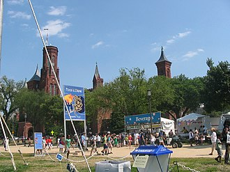 Smithsonian Folklife Festival - Image: Smithsonian Folklife Festival food tents