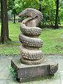 Snake - Tazishan Park - Chengdu, China - DSC03162.JPG