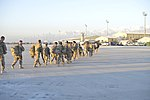 Soldiers arrive to Bagram Air Field from Shindand, Afghanistan 141109-F-KR468-050.jpg