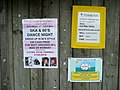 Some posters - geograph.org.uk - 1439583.jpg