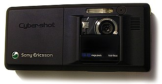 Sony Ericsson K810i - The phone software automatically switches to camera mode as soon as the lens cover is slid down.